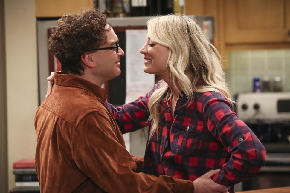 The Big Bang Theory Finale, Leonard and Penny