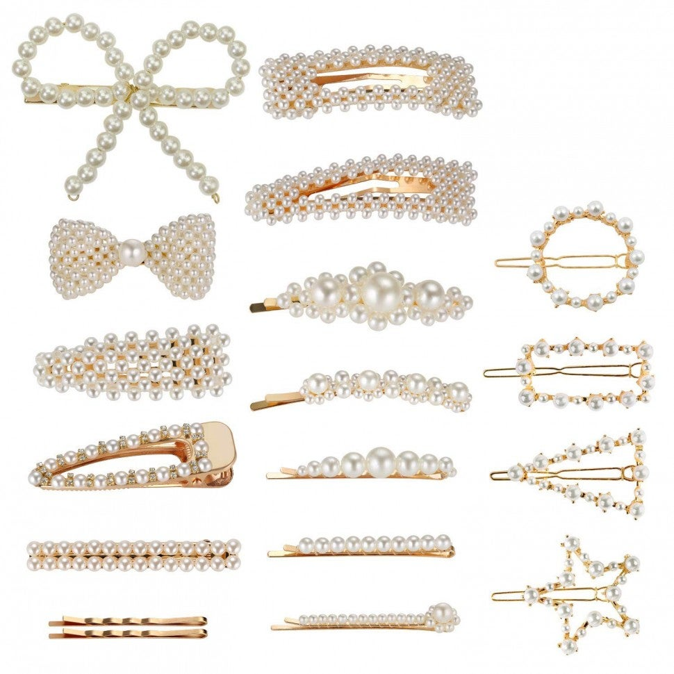 Amazon pearl hair clips
