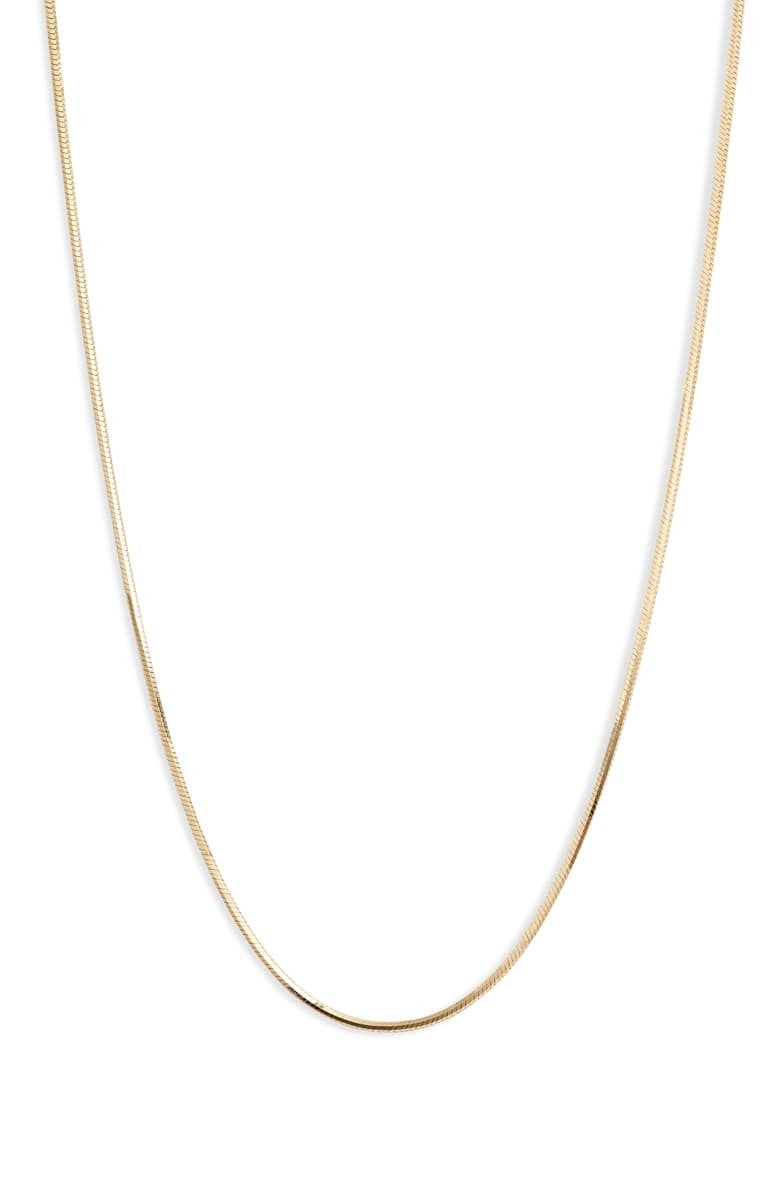 Argento Vivo snake chain necklace