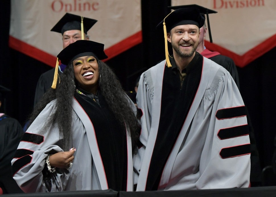 Missy Elliott and Justin Timberlake