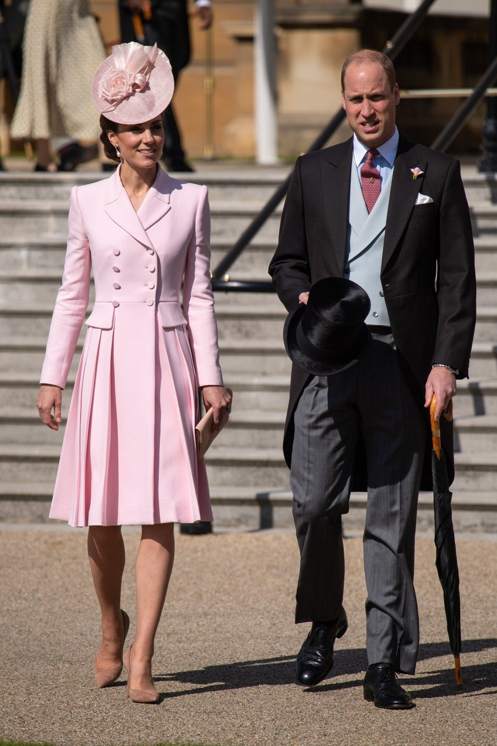 Kate Middleton and Prince William at Queen's Garden Party