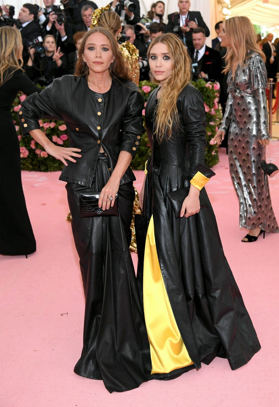 Mary Kate Olsen and Ashley Olsen at The 2019 Met Gala