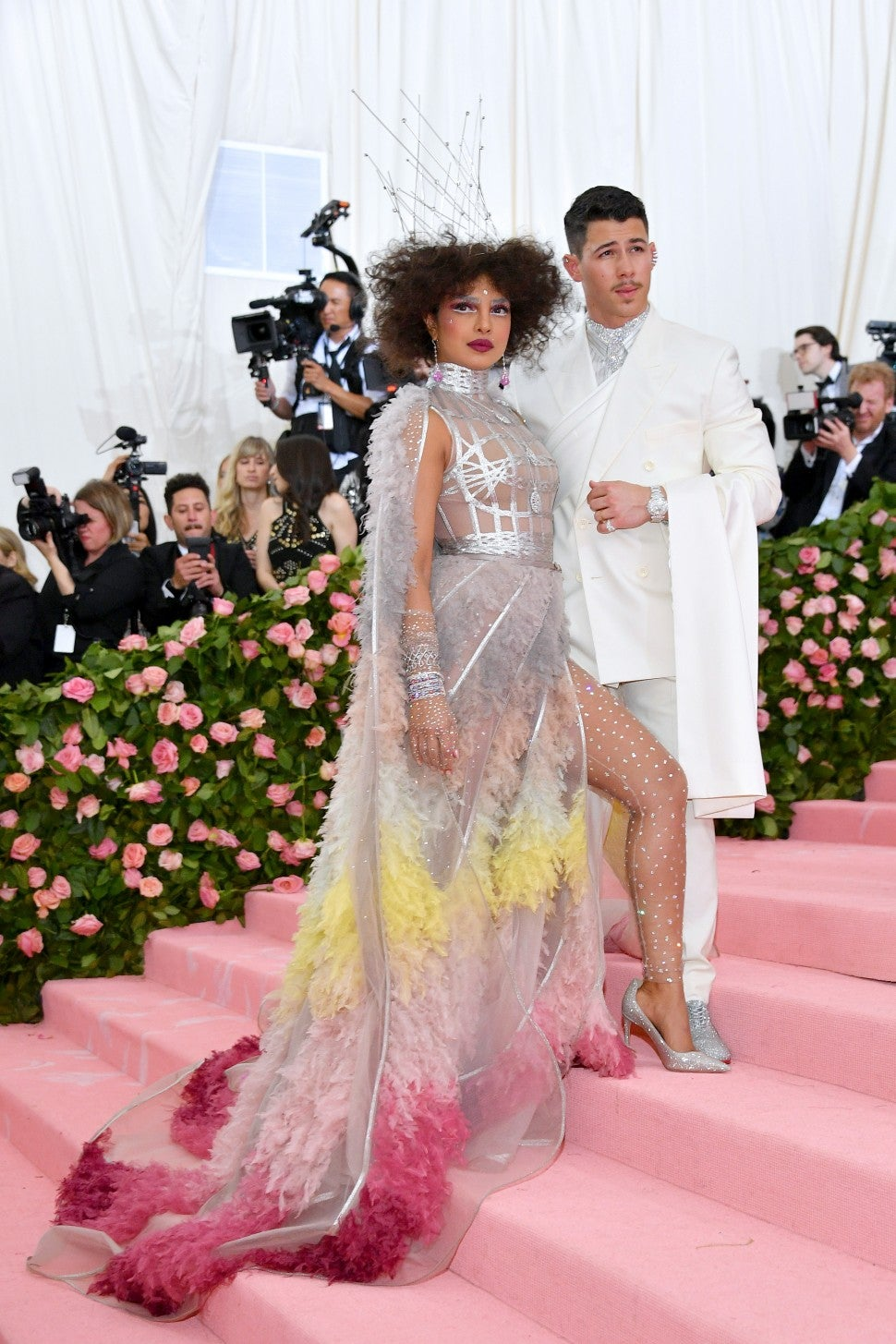 Priyanka Chopra and Nick Jonas Met Gala 2019