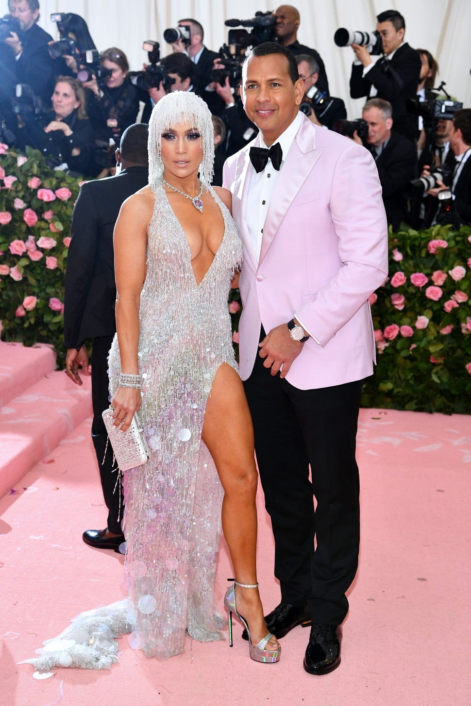 Jennifer Lopez and Alex Rodriguez  Met Gala 2019