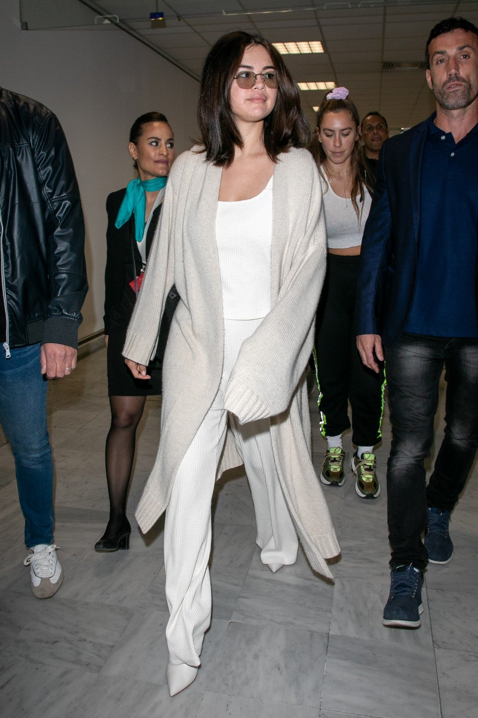 Selena Gomez at Nice airport ahead of Cannes