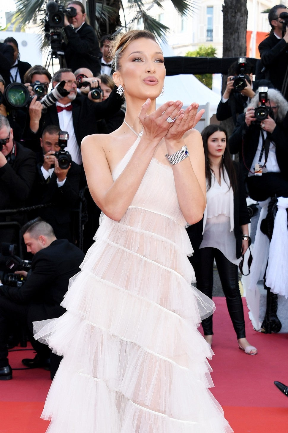 Bella Hadid at Rocketman screening during cannes
