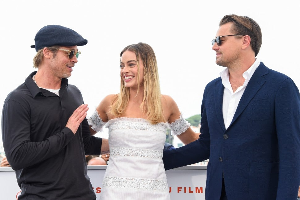 "Margot Robbie and Leonardo DiCaprio attend the photocall for ""Once Upon A Time In Hollywood"" during the 72nd annual Cannes Film Festival on May 22, 2019 in Cannes, France."