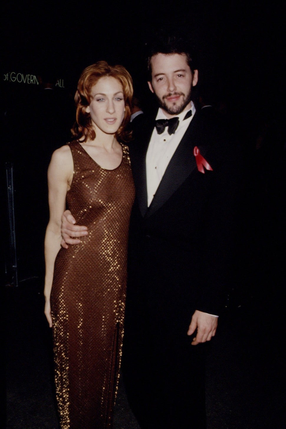 Sarah Jessica Parker and Matthew Broderick at the 1993 Oscars