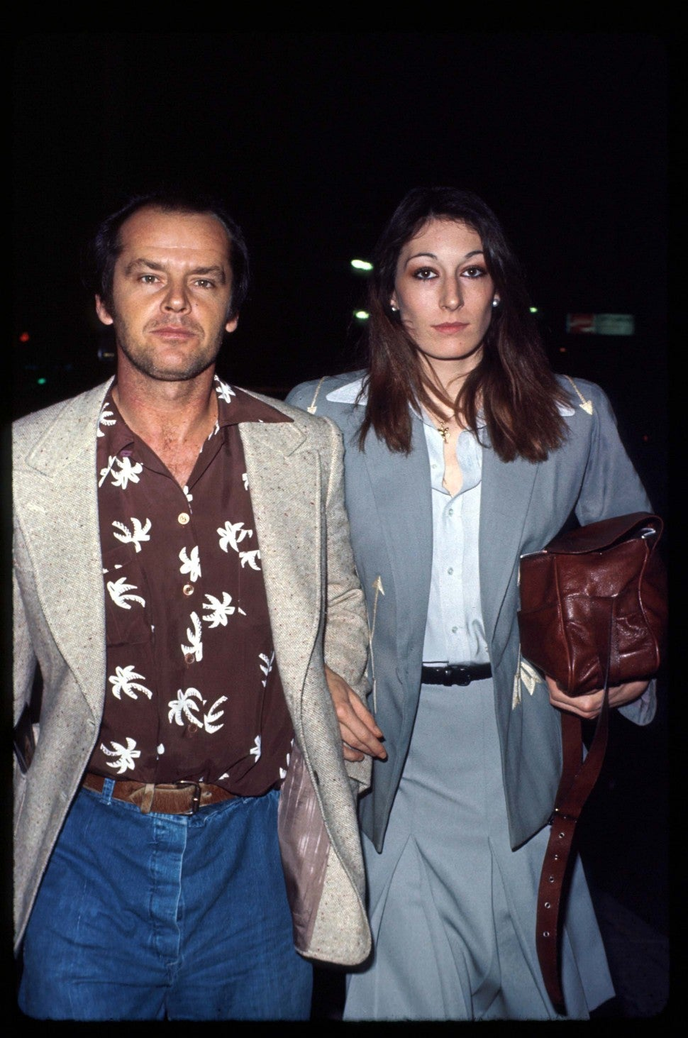 Anjelica Huston Shares A Nsfw Admission About Ex Jack Nicholson Entertainment Tonight She is busy bringing up her little brother, marc, and has an intense relationship with her father, christian. nsfw admission about ex jack nicholson