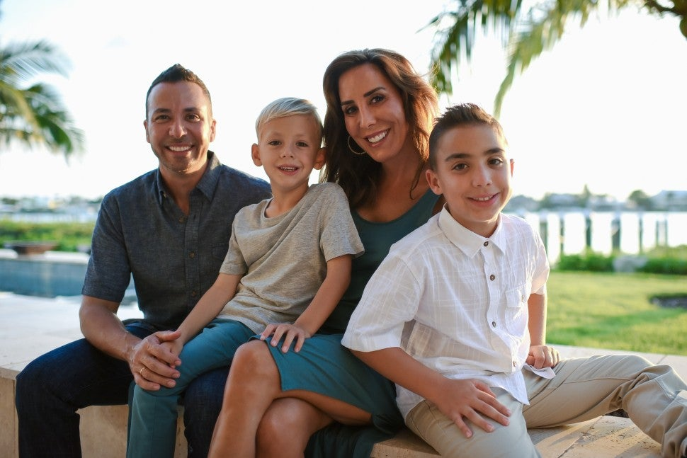 Howie Dorough and family