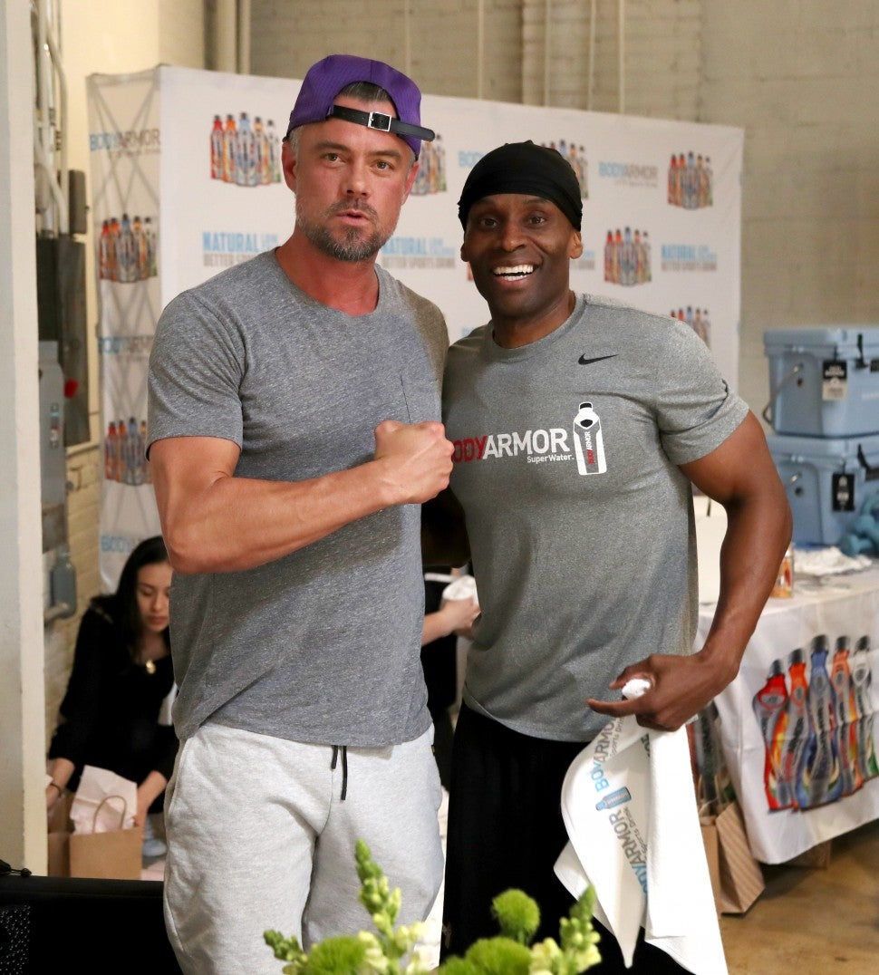Josh Duhamel at bodyarmor lyte event