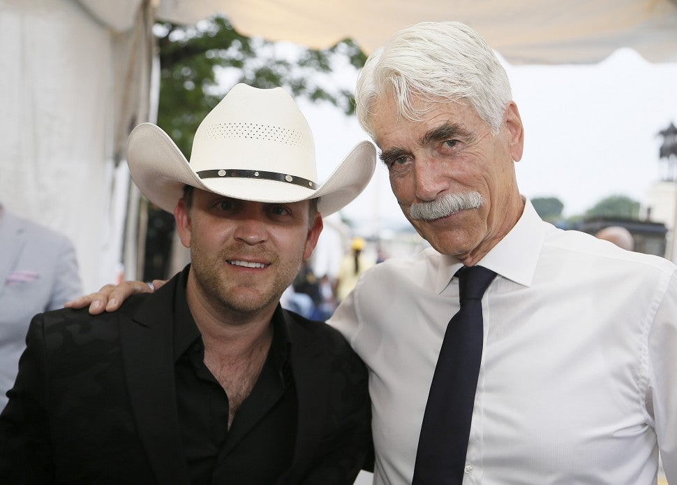 Justin Moore and Sam Elliott