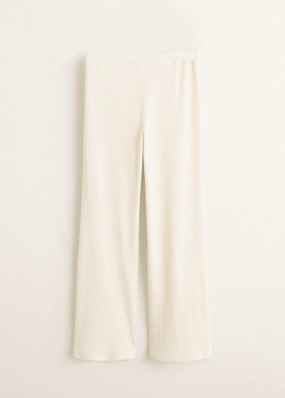 Mango ribbed trousers