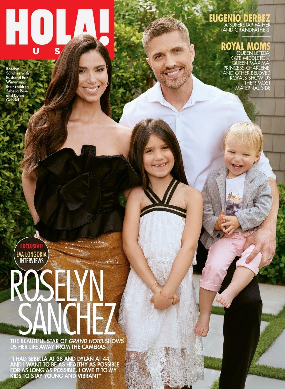 Roselyn Sanchez Hola USA Cover