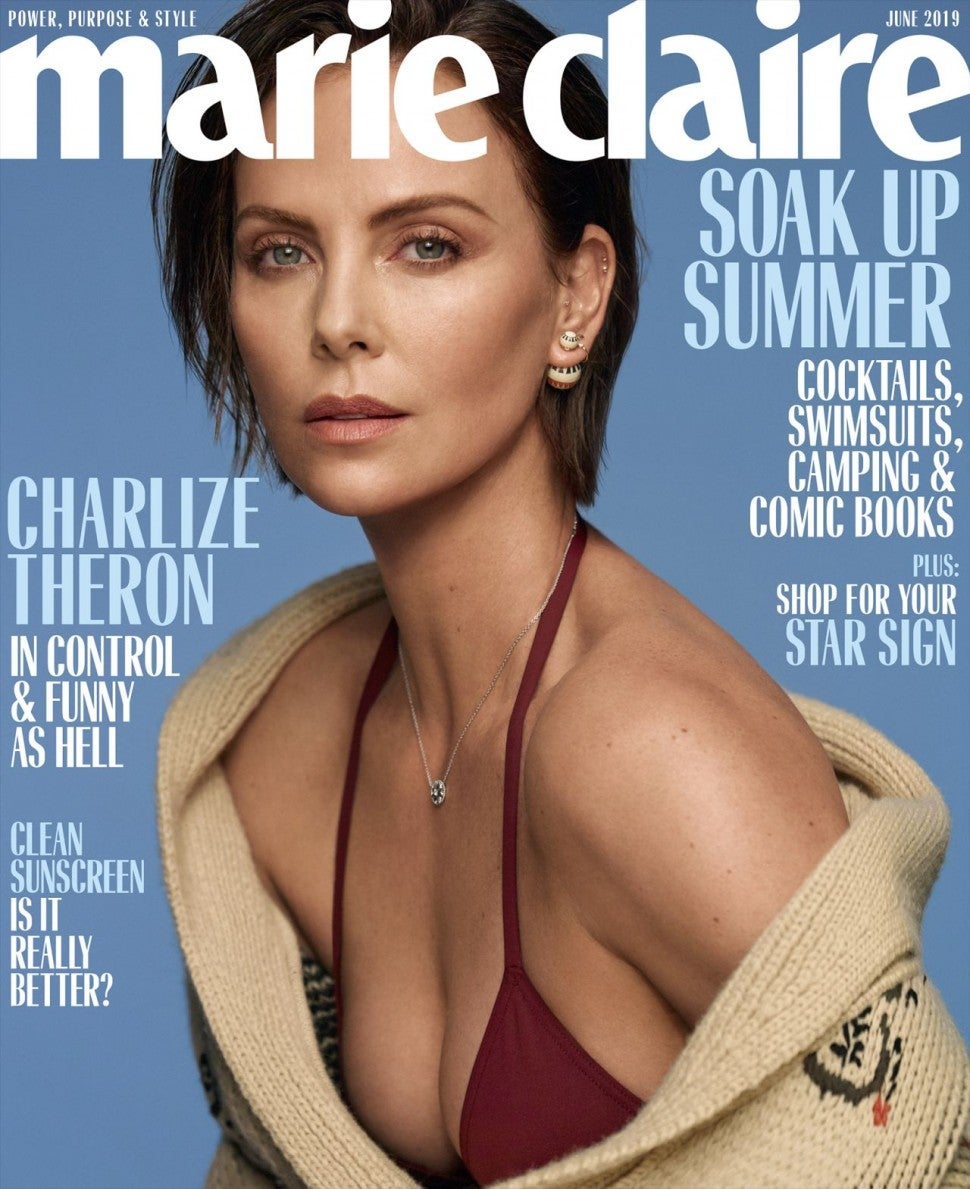 Charlize Theron Marie Claire June 2019