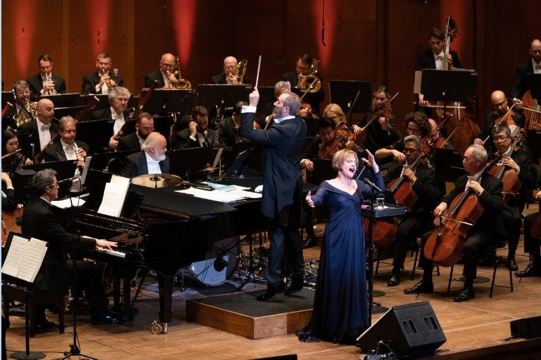 Patti Lupone with New York Philharmonic