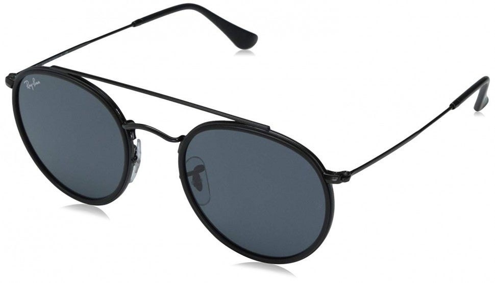 Ray-Ban grey round aviator sunglasses