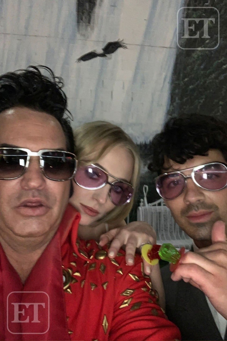 Sophie Turner Joe Jonas ETonline Desiree Murphy Vegas Wedding