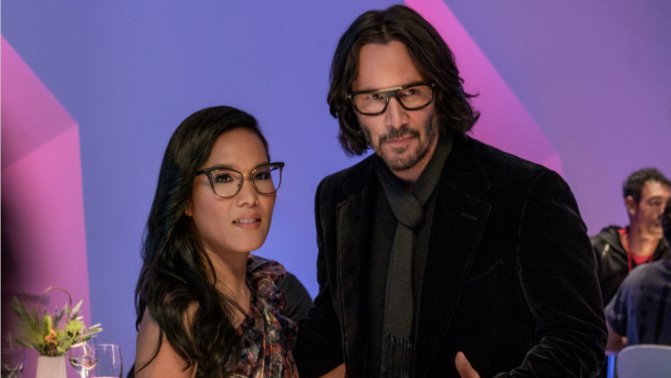 Ali Wong and Keanu Reeves