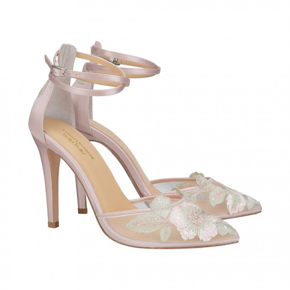Bella Belle embroidered pump