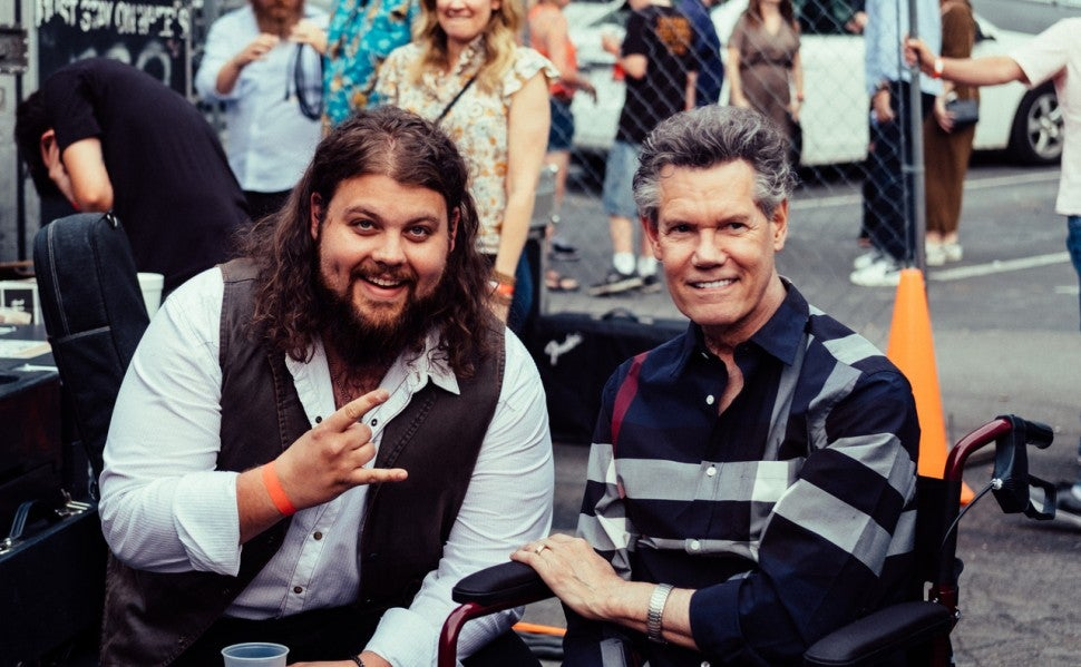 Dillon Carmichael and Randy Travis