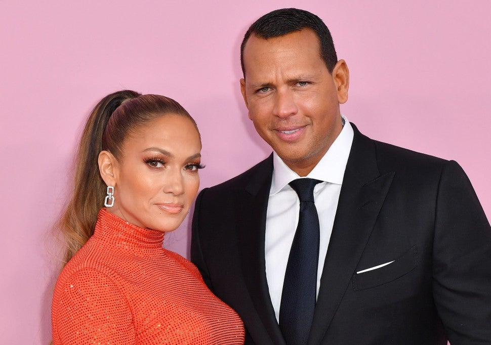 Jennifer Lopez and Alex Rodriguez at 2019 CFDA Fashion Awards