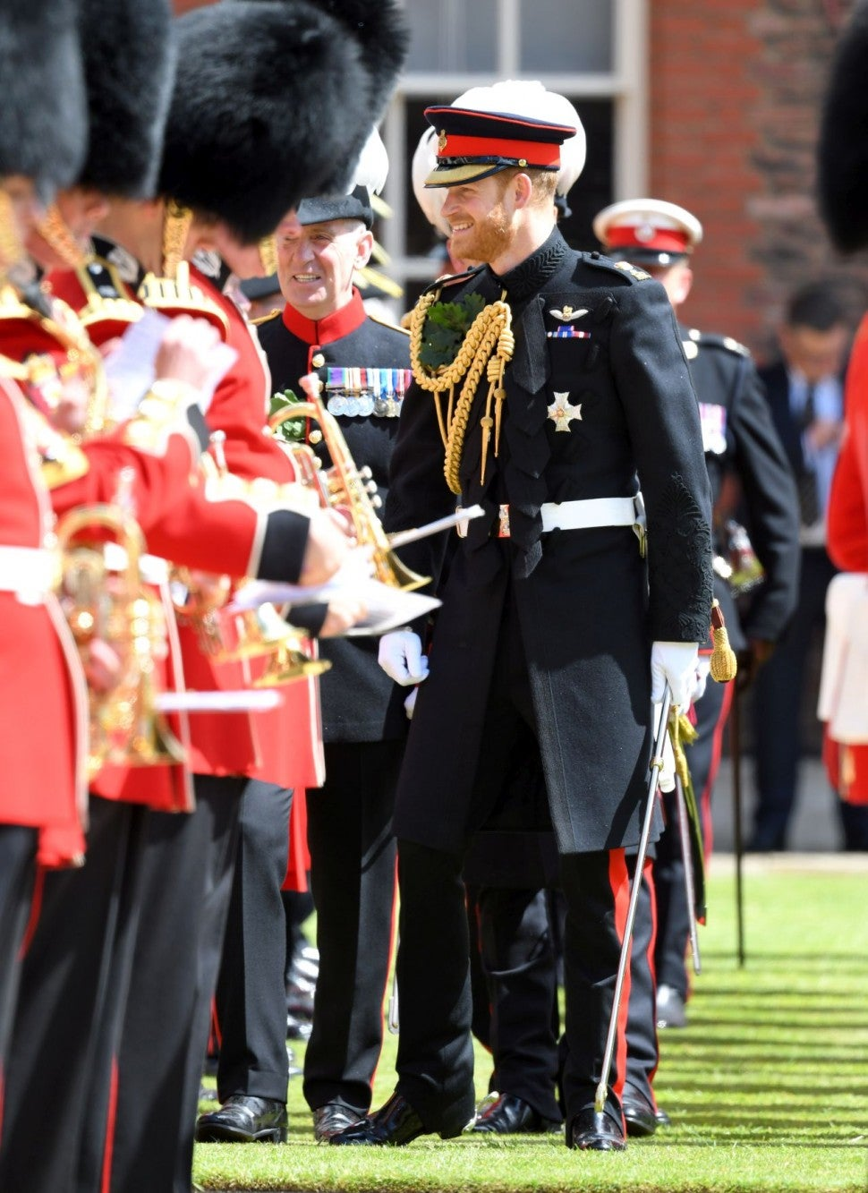 Prince Harry at Founder's Day Parade