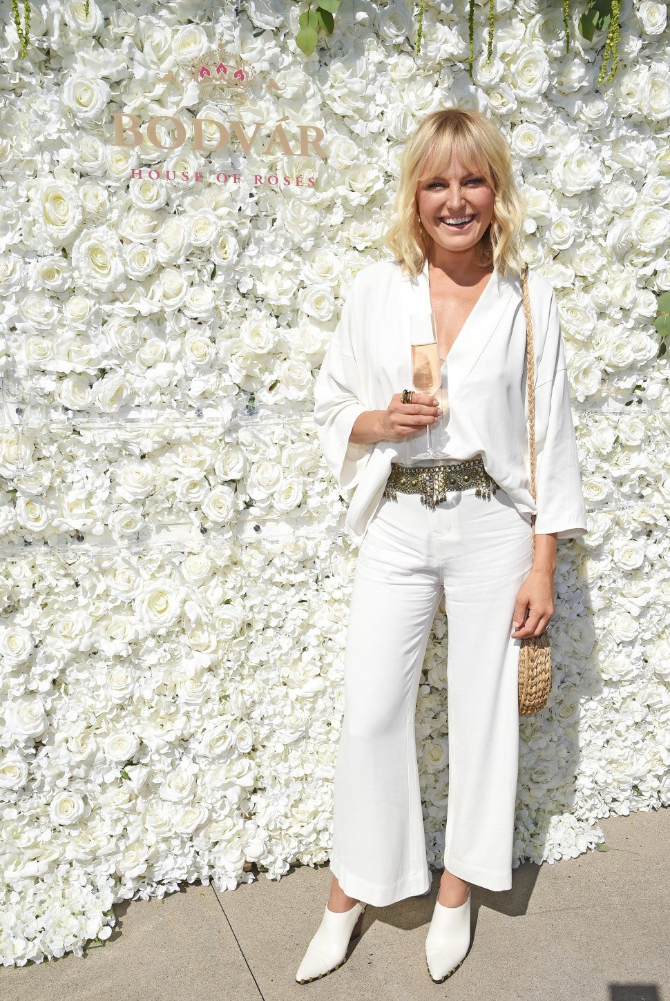 Malin Akerman on national rose day