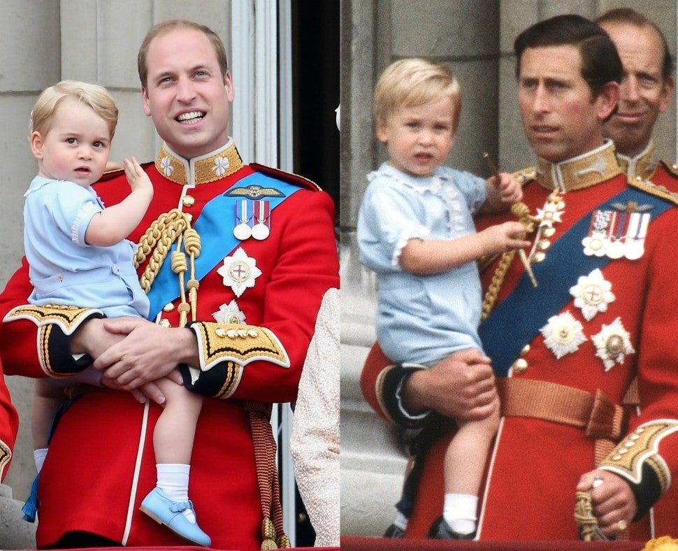Prince George Prince William Wearing Same Baby Outfits