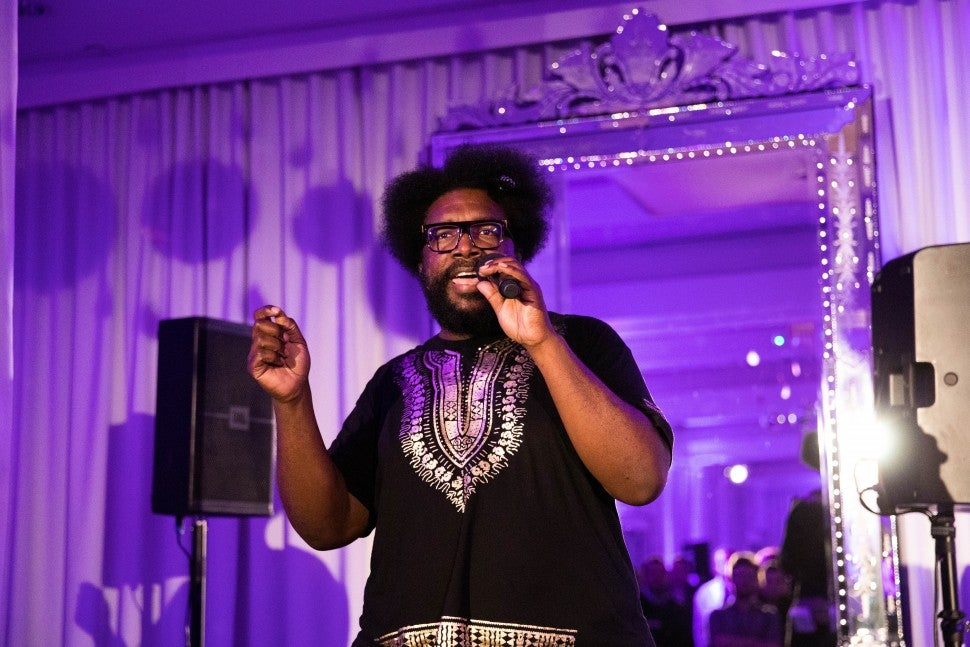 Questlove at prince event