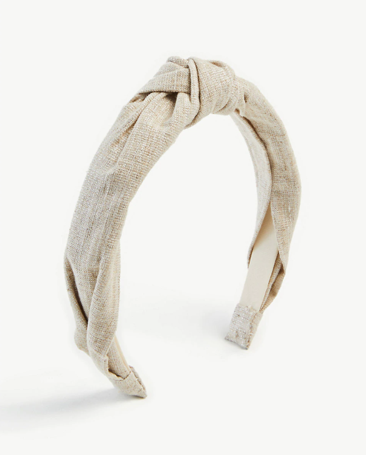 Ann Taylor knotted headband