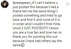 Lynne Spears Comment