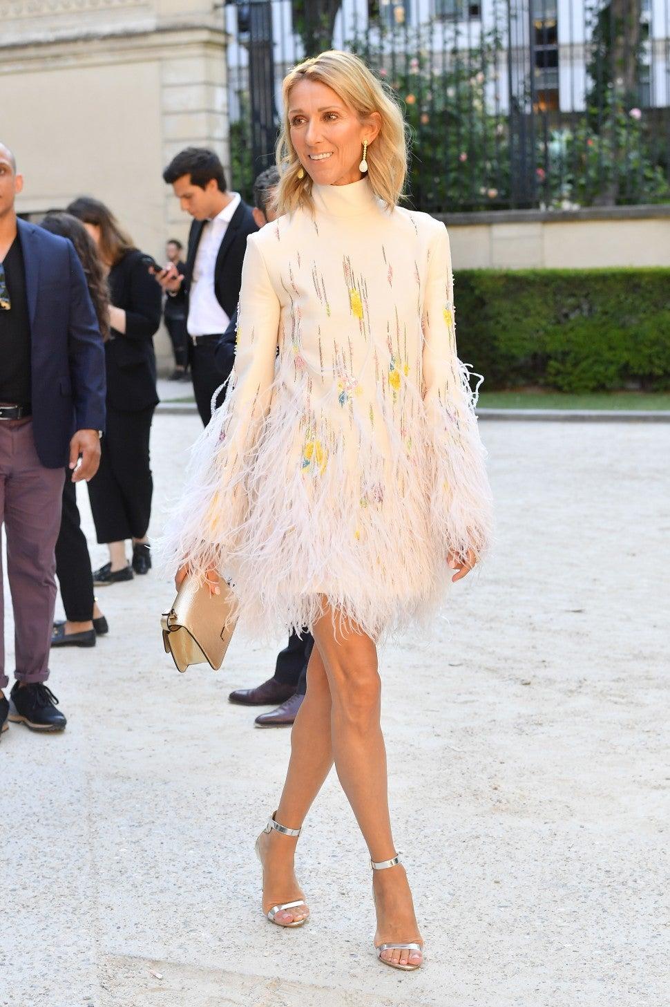 Celine Dion gets surprise makeover for Paris Haute Couture