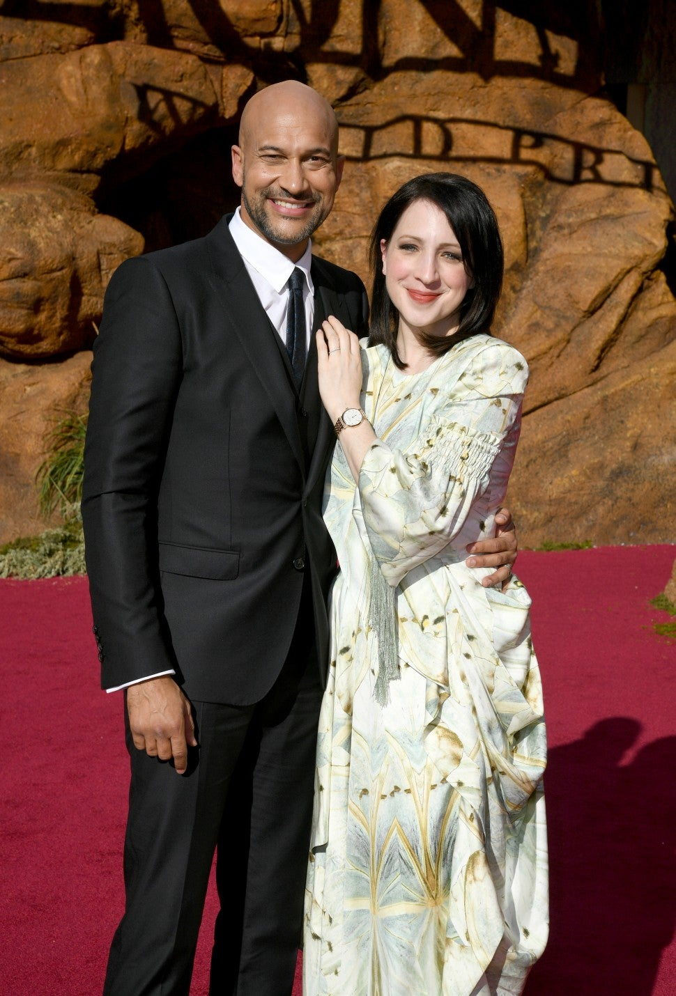 Keegan Michael Key Elise Lion King Premiere