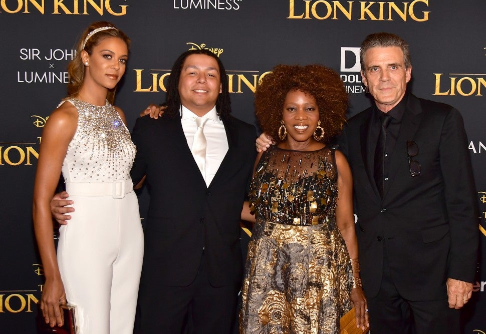 Alfre Woodard Family Lion King Premiere