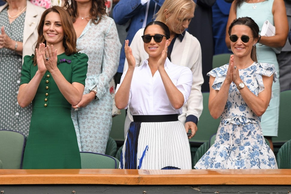 Kate Middleton Pippa Middleton Meghan Markle Wimbledon