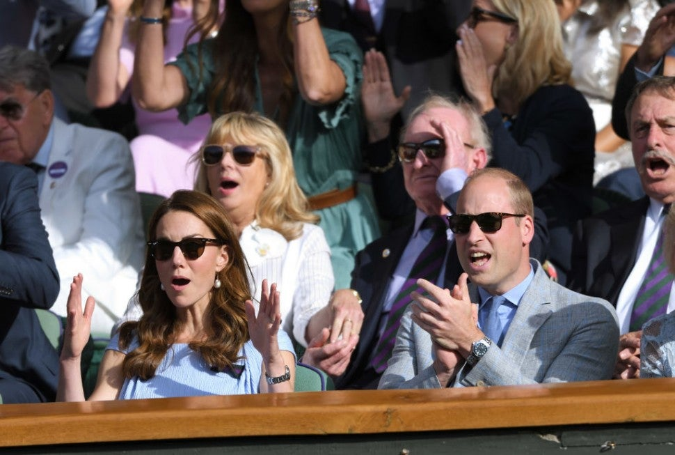 Prince William and Kate Middleton at Wimbledon