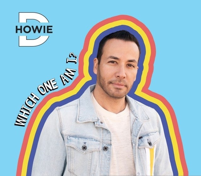 Howie Dorough 'Which One Am I?' album cover