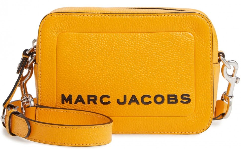 Marc Jacobs yellow box bag