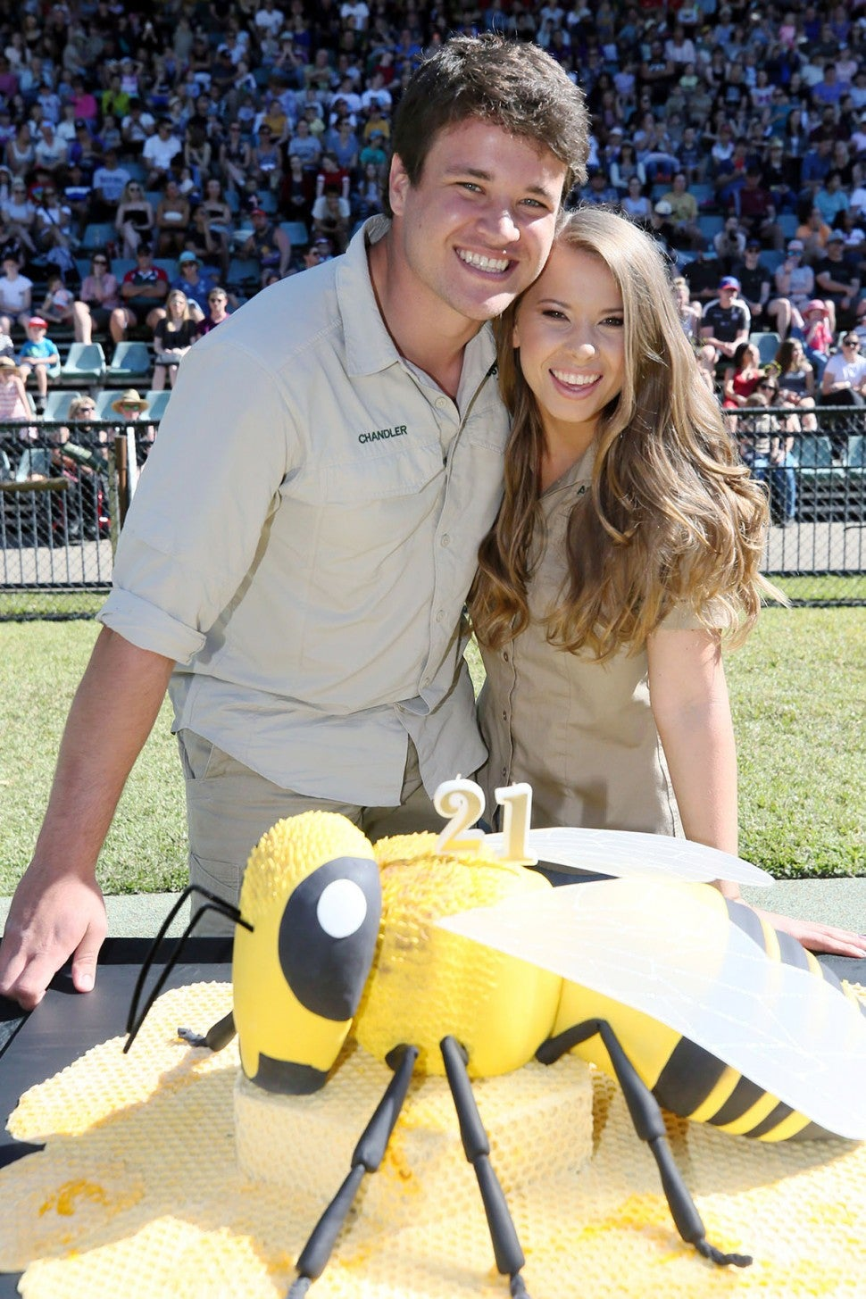 Chandler Powell and Bindi Irwin on her 21st bday