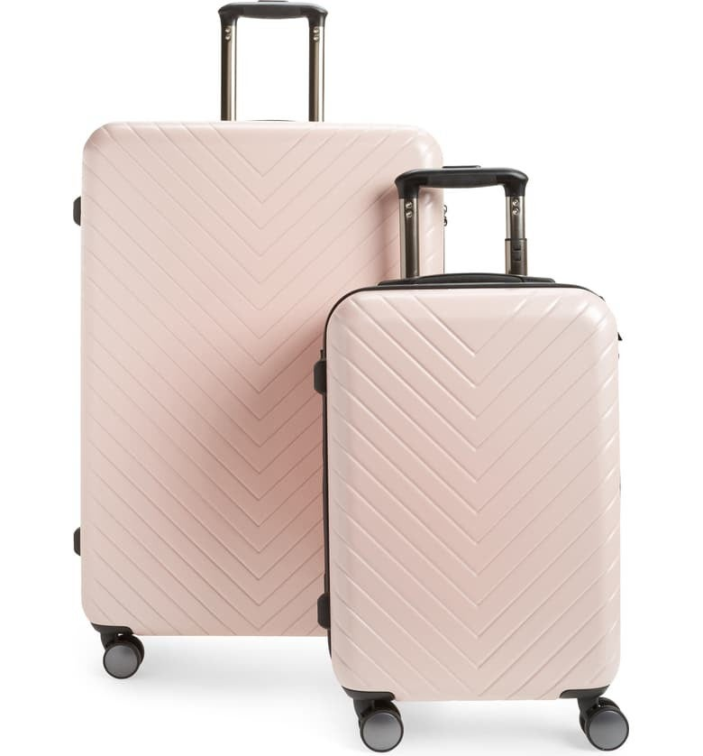 Nordstrom Chevron Luggage Set