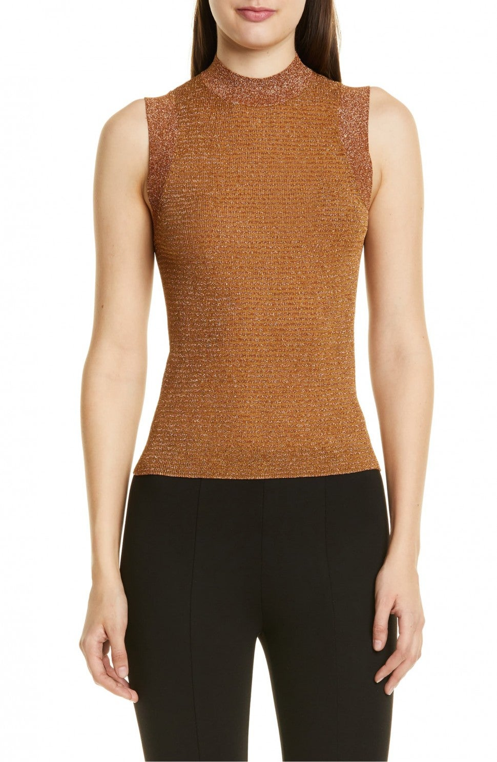Rag & Bone Raina Metallic Sweater Tank