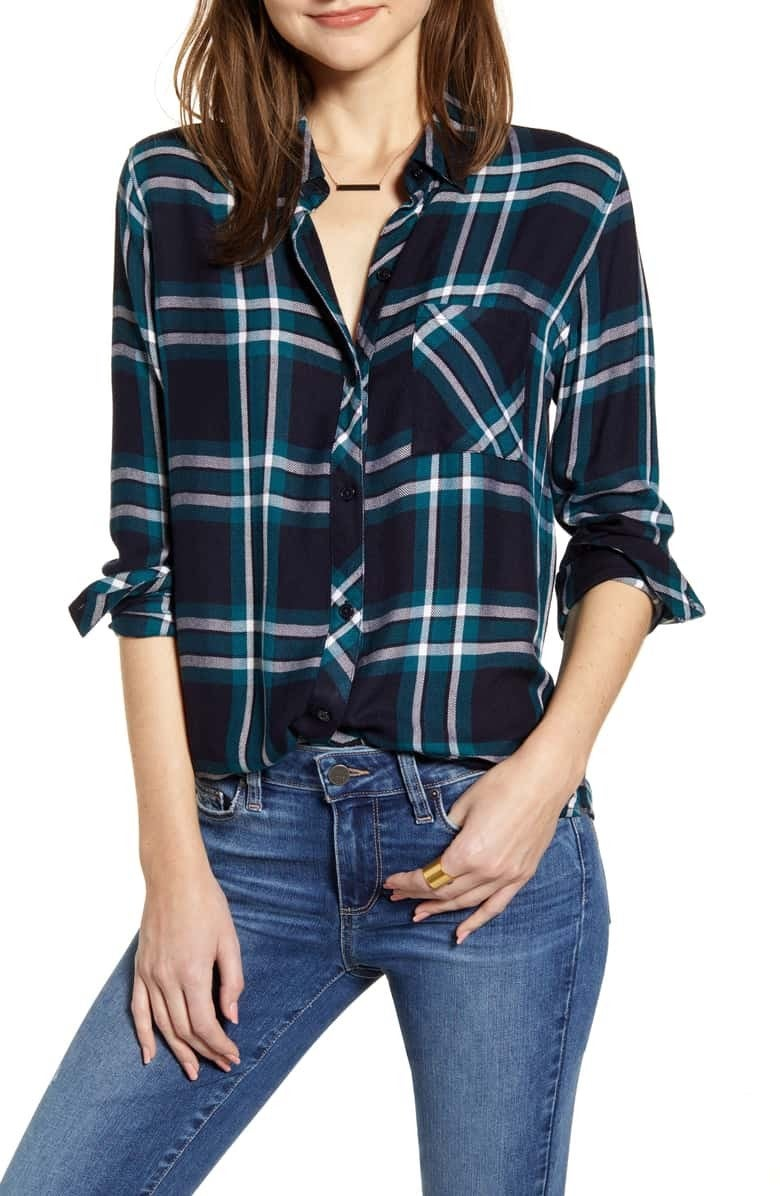 Rails plaid shirt
