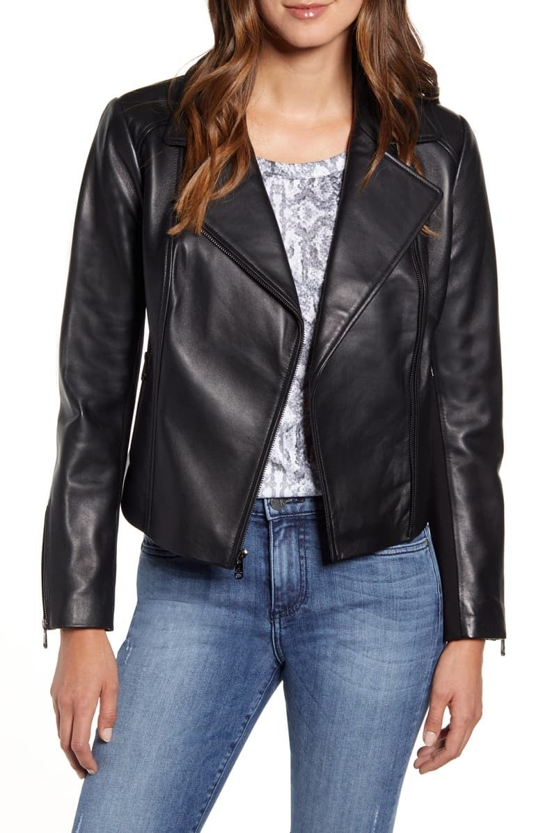 Sam Edelman Leather Moto Jacket