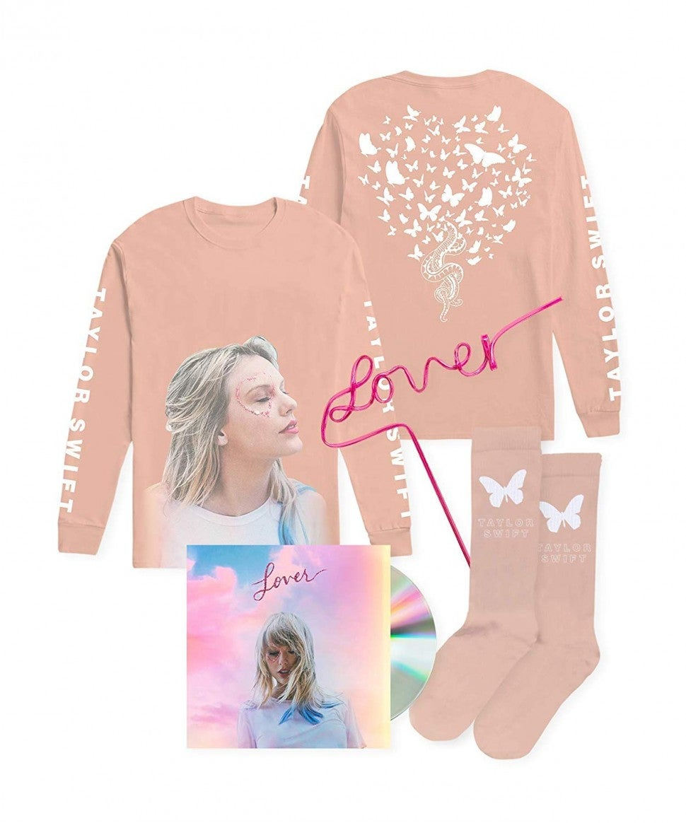 taylor swift Exclusive Lover Bundle with straw