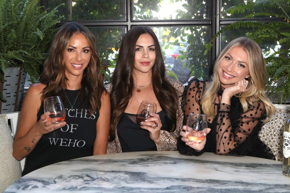 "Kristen Doute, Stassi Schroeder and Katie Maloney Schwartz at Nocking Point and Witches of Weho Wines ""Basic Witch"" Launch Event"