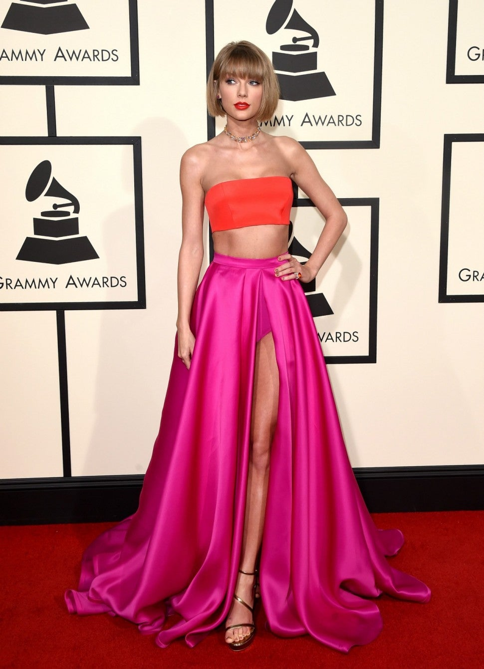 Taylor Swift at 2016 GRAMMYs