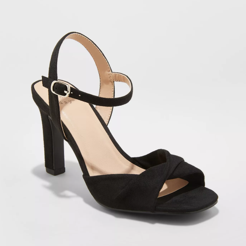 A New Day Tawnie Twist Front Heeled Pumps