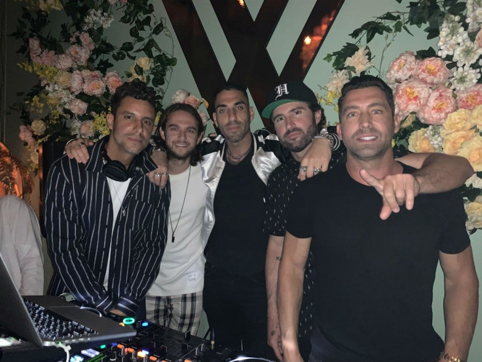 Brody Jenner group shot