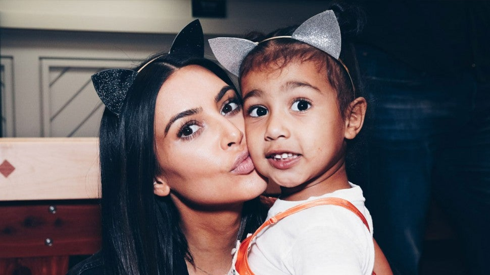 Kim Kardashian & North West at Ariana Grande's Dangerous Woman Concert in 2017